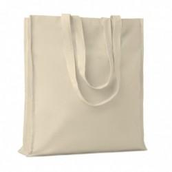 Shopper in cotone c/soffietto