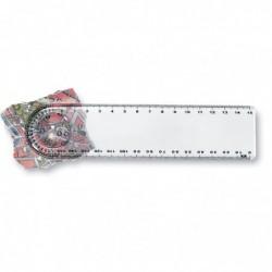 Righello (15 cm) trasparente