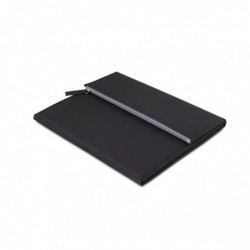 Porta blocnotes A4 microfibra
