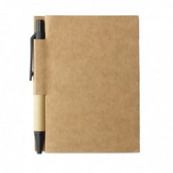 Quaderno in cartone riciclato