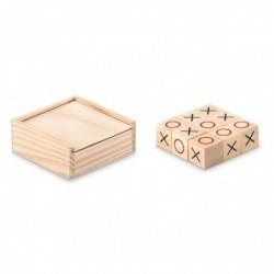 Gioco del tris in legno