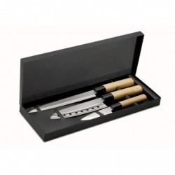 Set coltelli in acciaio