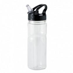 Bottiglia con cannuccia